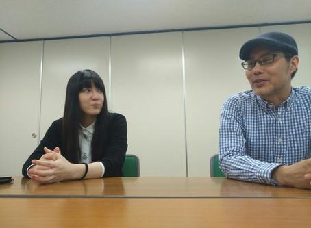 「渦中の花」インタビュー第6回(全9回)山本佳希×今井由希(柿喰う客)