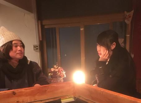 「渦中の花」インタビュー第8回(全9回)烏丸棗(牡丹茶房)×池亀三太(ぬいぐるみハンター)