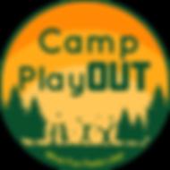 Revised Camp PlayOUT logo