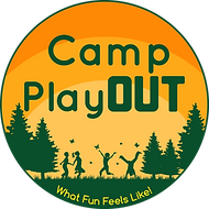 Revised Camp PlayOUT logo