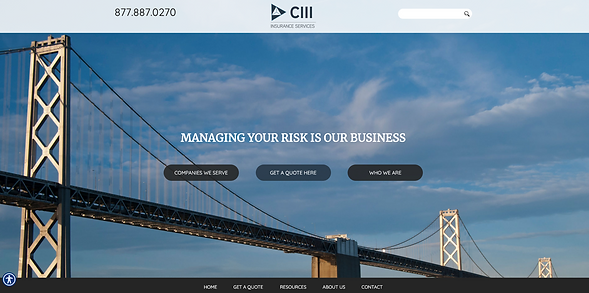 CIII Website screenshot.png