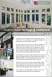 Heritage & Traditional Windows Brochure