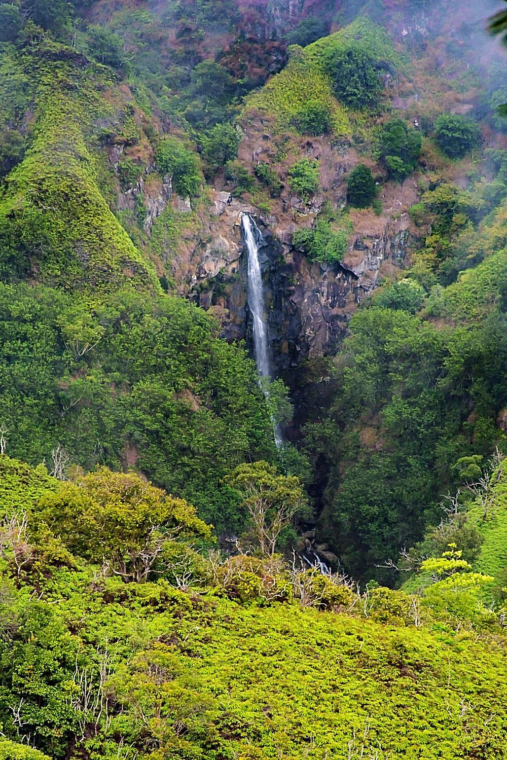 A Makamaka'ole Falls tier level