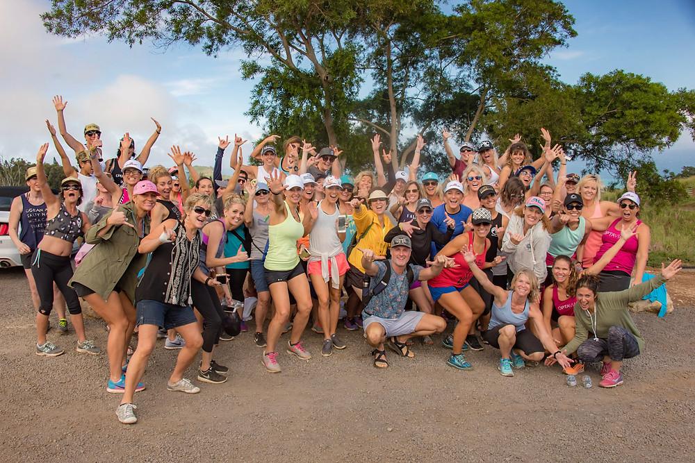 Health coaches unite with Makana Maui Adventures