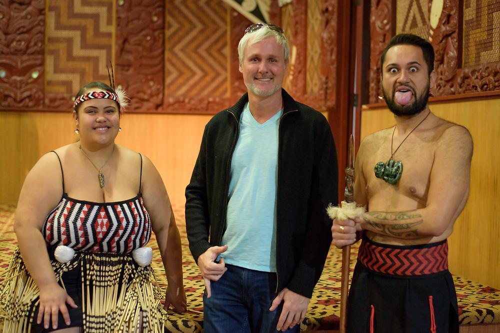 Post Maori performance