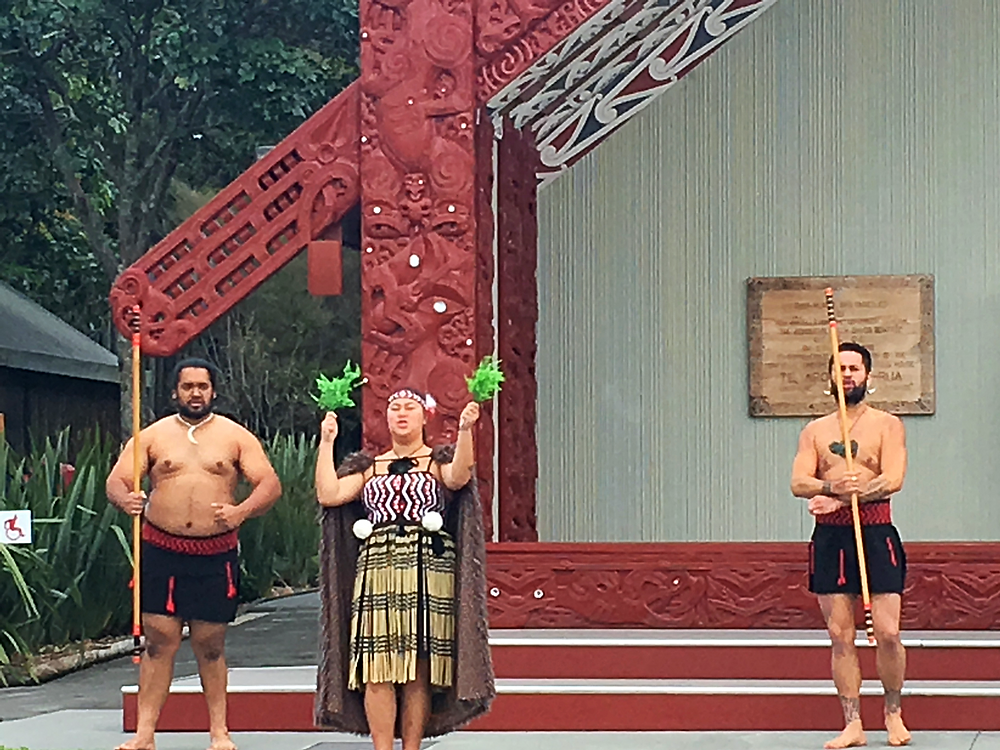 Maori Polynesian performance Rotorua New Zealand