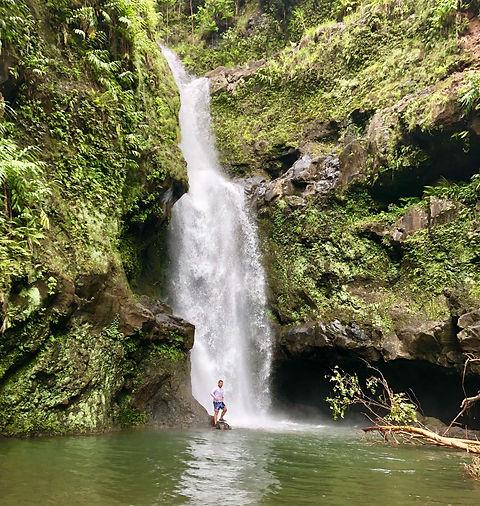 Upper Waikamoi Falls