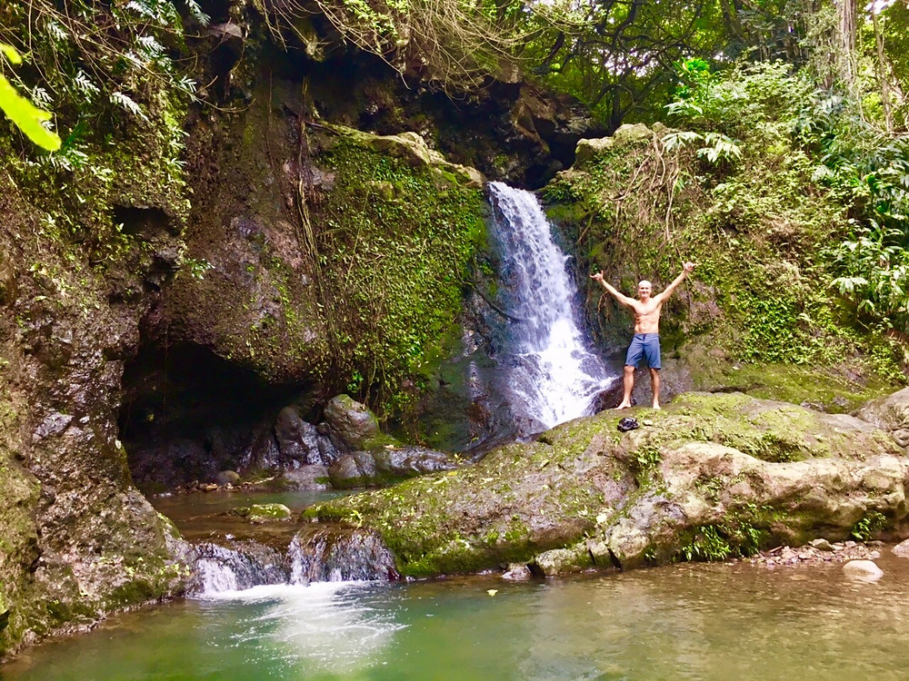 Hiking to West Maui's hidden waterfalls
