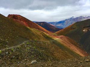 Haleakala's Rainbow Ridge