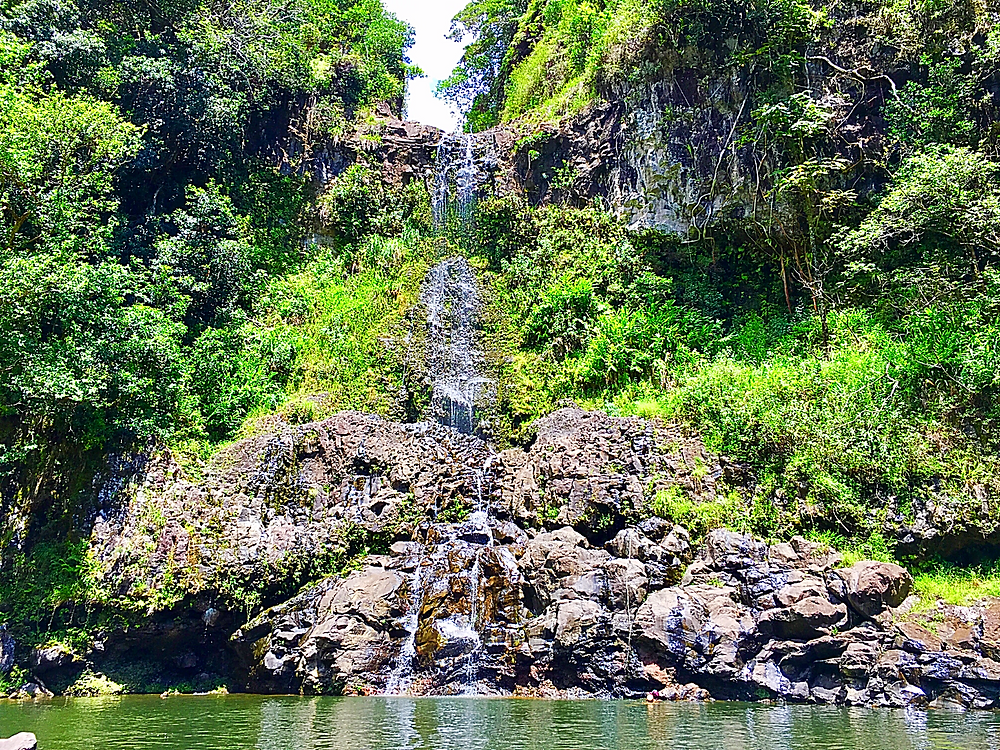 Hike to Maui's hidden waterfalls to swim and jump