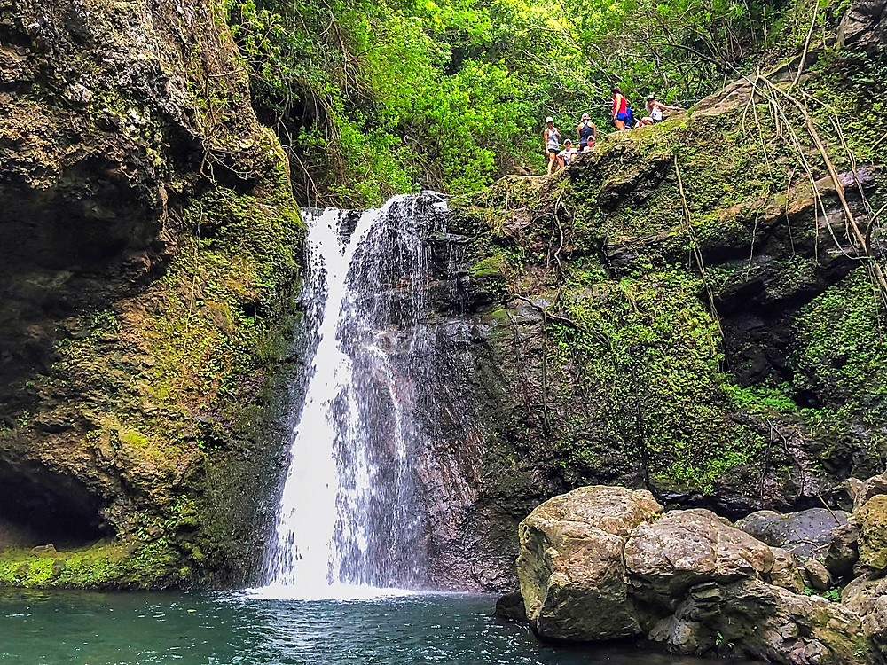 Another Makamaka'ole Falls tier level