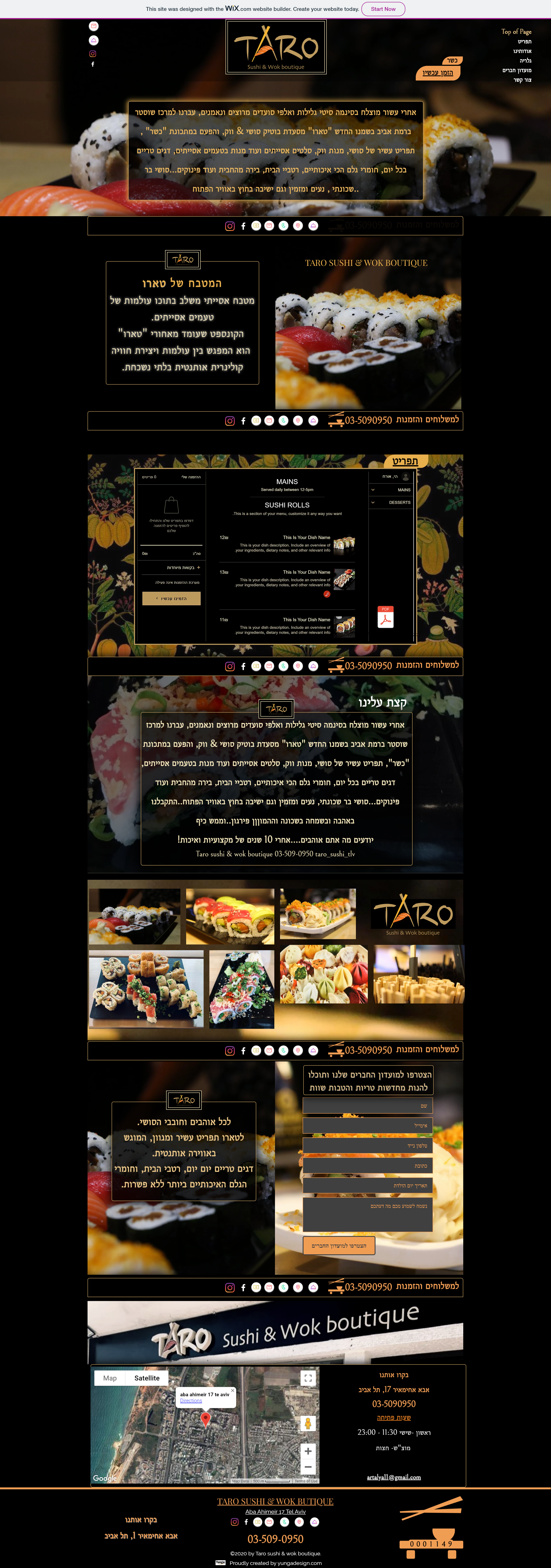 Taro sushi & wok boutique