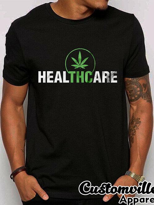 2019 Fashion Thc Heal Medical T-Shirt Healthcare Weed Cannabis Shirt. Unisex Tee