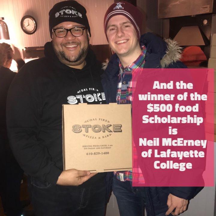 Lafayette College Pizza Scholarship