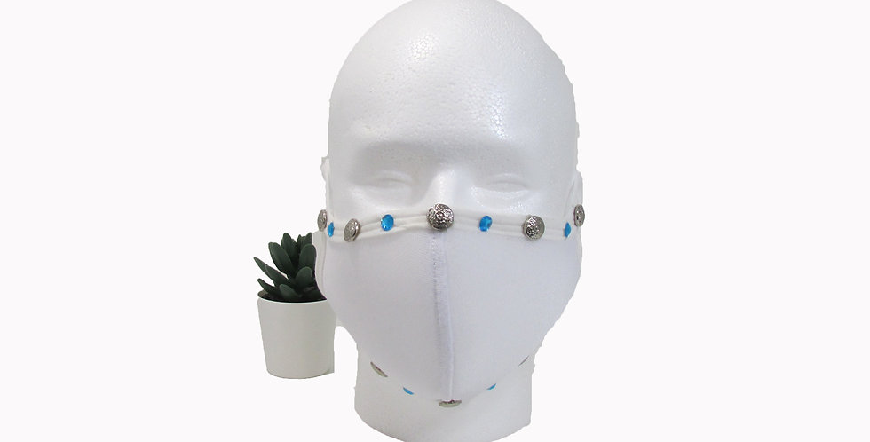 Stone Fashion Mask w Filter Pocket