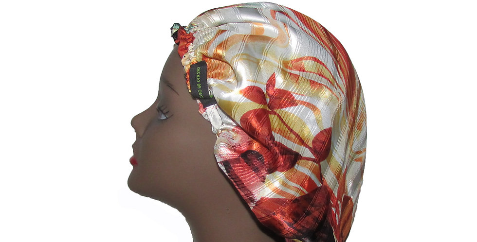 Printed Bonnet
