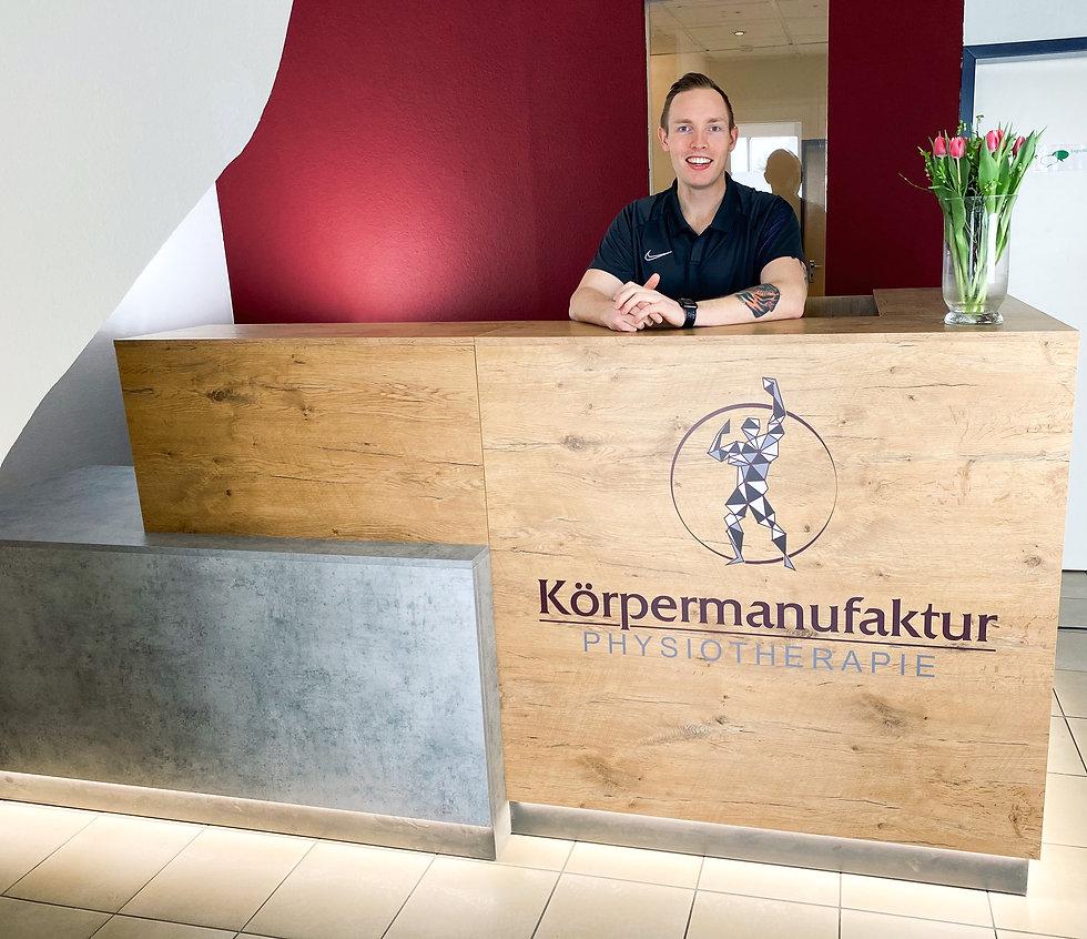 Empfang Körpermanufaktur Physiotherapie Hagenburg