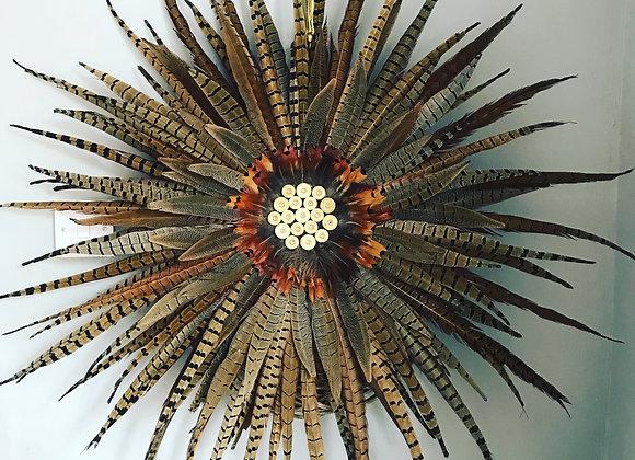 Medium Pheasant feather wreath