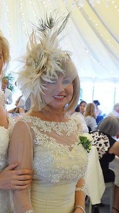 wedding hats, ladies fascinator, large fascinator, hat shop