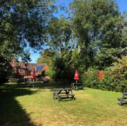 The Crown beer garden