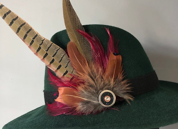 Large feather pin