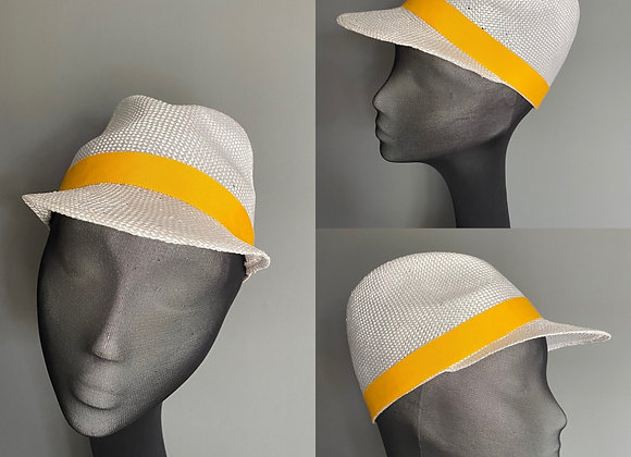Summer straw baseball cap