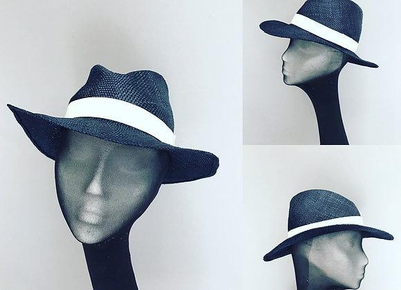 Panama style straw hat