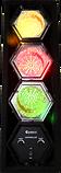 Coloured Flashing Disco Lights
