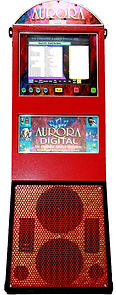 Red Digital Karaoke Jukebox