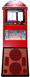 Red Digital Jukebox