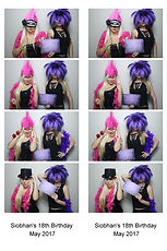 Two Sisters In A Photo Booth