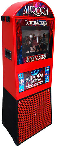 Red Touchscreen Jukebox