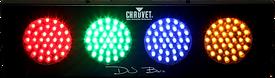 multi coloured disco light