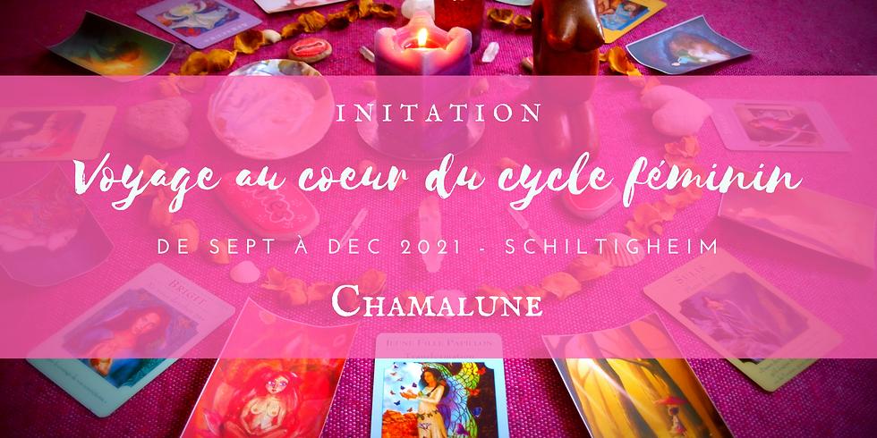 Initiation Voyage au Coeur du Cycle Féminin