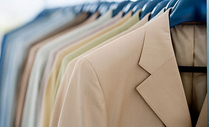 Sports coats - tapering sides, hemming, shortening sleeves, button replacement, mending.