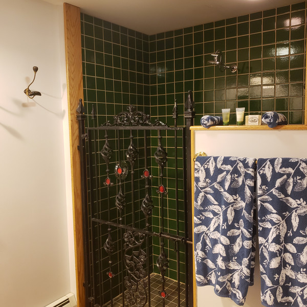 Iron Baron shower