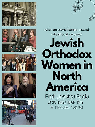 Jewish Orthodox Women in North America c