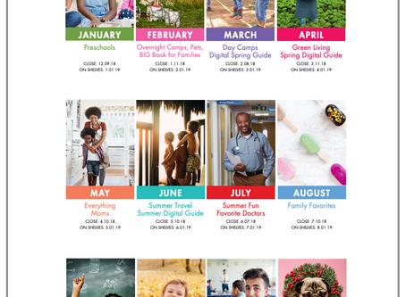 2019 Editorial & Event Calendar