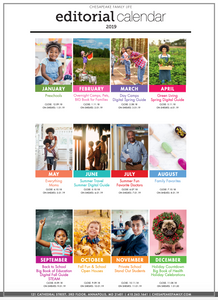 2019 Chesapeake Family Life Editorial Calendar