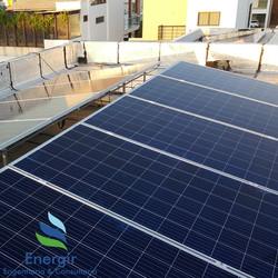 Sistema Fotovoltaico em Laje