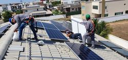 Montagem de Sistema Fotovoltaico