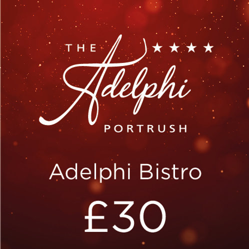 Bistro Gift Card - £30