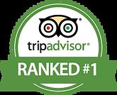 TripAdvisor RANKED #1