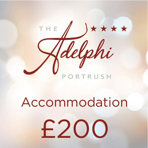 Accommodation Voucher - £200