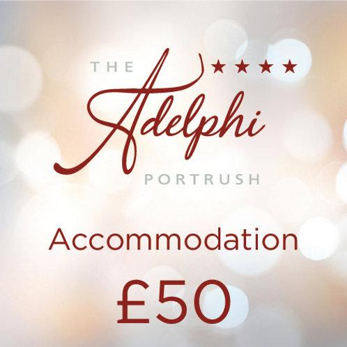Accommodation Voucher - £50