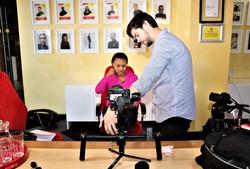 Boni Mchunu business leaders video shoot