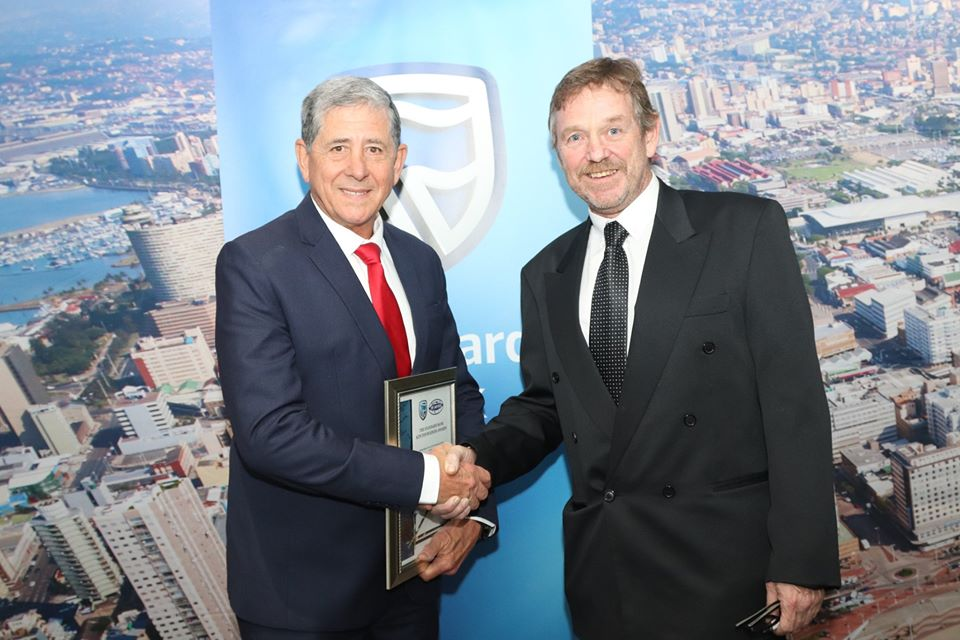 Allan Hircsh KZN Business Personality of the year 2019