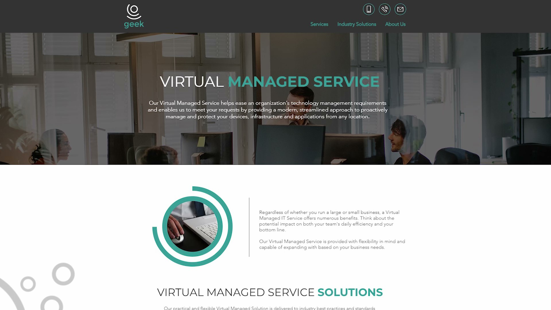 Geek Managed Services Virtual Managed Service