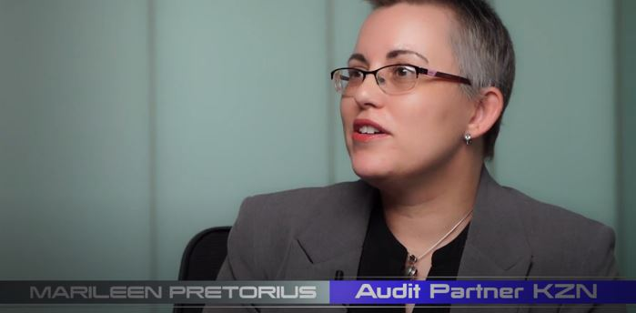 Marileen Pretorius Audit Partner KZN