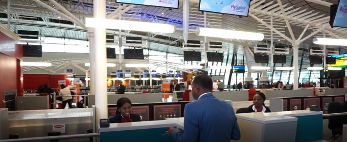 Check in counters